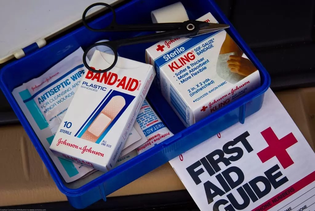 water safety pool safety guidelines first aid kit