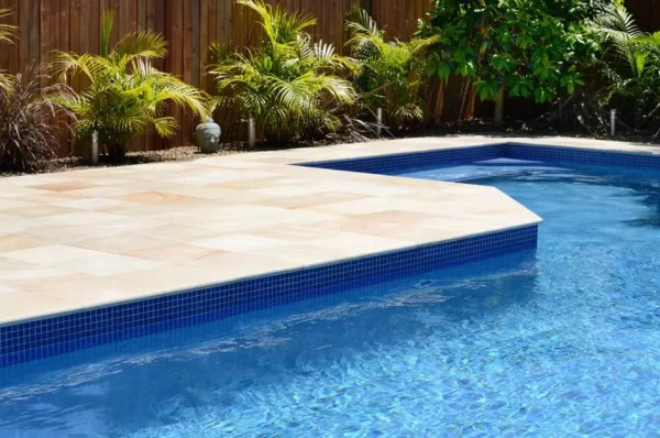 waterline tiles cheap ways to upgrade a pool pool makeover ideas