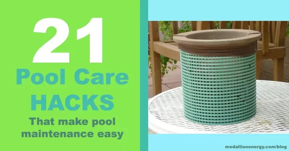 21 Pool Care Hacks That Make Pool Maintenance Easy