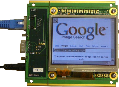 Touch-Panel Computer with 3.5-inch, color TFT LCD