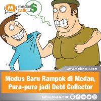 Modus Baru Rampok di Medan, Pura-pura jadi Debt Collector Perampokan dengan modus