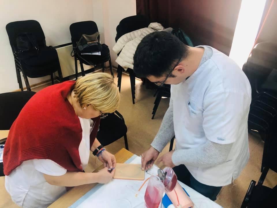 Punctia venoasa - Seminar recoltare sange