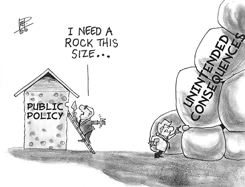 The Dilemma of Unintended Consequences of Public Policy on Health Care