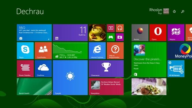 Windows 8-1 Dechrau