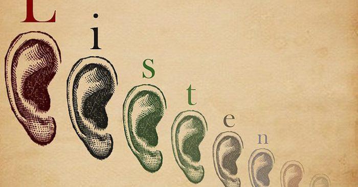 Luisteren is gratis