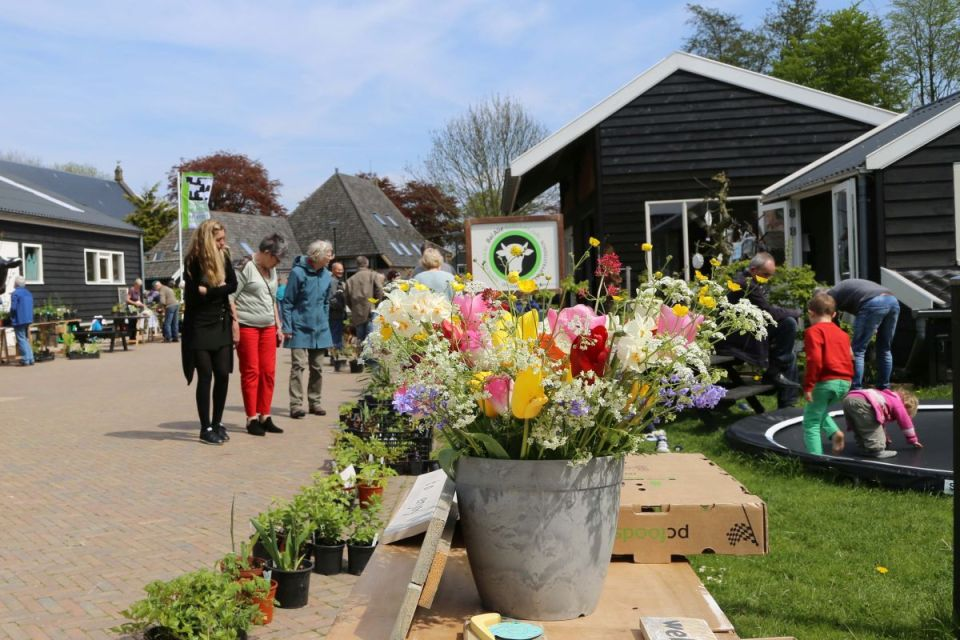 Plantenruilbeurs bij het Rundveemuseum in Aartswoud (Foto: Hanneke de Boer)