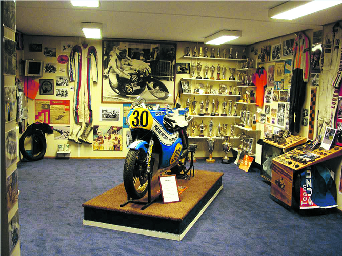 Belangstellenden kunnen na de Wil Hartog-motortoertocht een kijkje nemen in het museum. (Foto: aangeleverd)