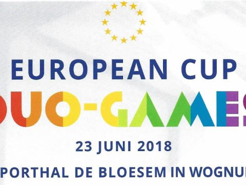 European Cup Jiu Jitsu in Topsporthal in Wognum