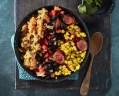 Wat eten wij vandaag: Mexicaanse stamppot-bowl