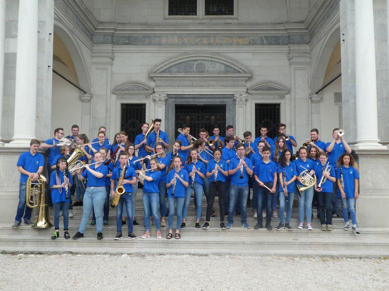 Jongerenorkest Waldkirch uit het Zwarte Woud (Foto aangeleverd)
