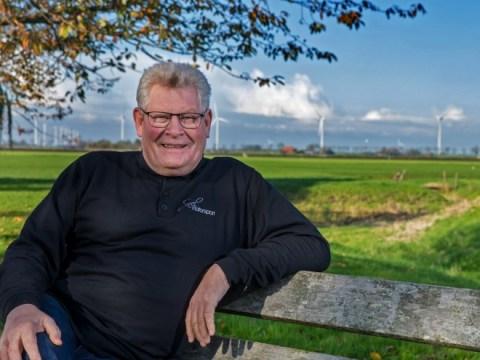 Jan Piet de Boer voelt zich stukken beter nu hij zijn etenspatroon heeft aangepast. ((Foto: vincentdevriesfoto.nl))