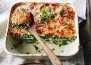Wat eten wij vandaag: Zalm-spinazielasagne met gegrilde courgette