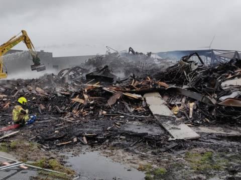 Foto: Brandweer Hoorn - Post Zwaag