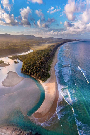 Moonee-Beach