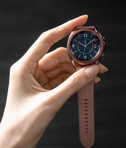 Samsung Announces Health-Focused Galaxy Watch3 Smartwatch 6