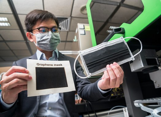 Graphene Facemask to Deactivate Coronaviruses and Bacteria 2
