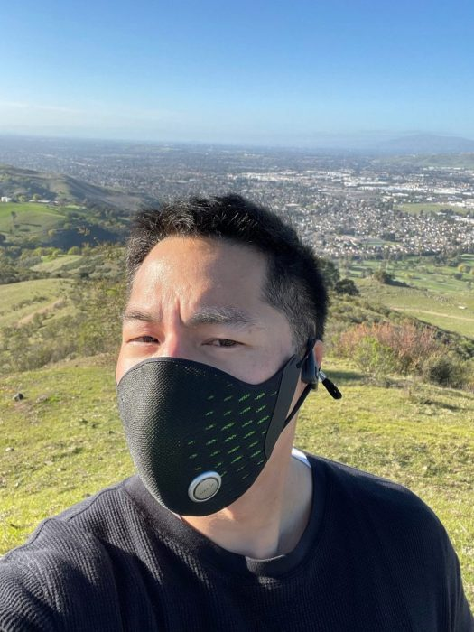 AirPop Active+ Halo Smart Mask: Medgadget Review 6