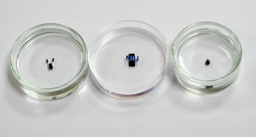 Highly Maneuverable Magnetically Controlled Miniature Robots 2