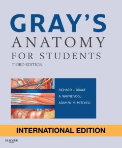 Book Cover: Gray's Anatomy for Students Latest Edition