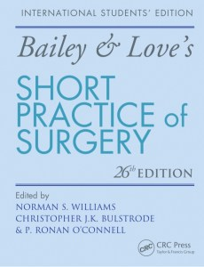 Book Cover: Bailey & Love's Short Practice of Surgery