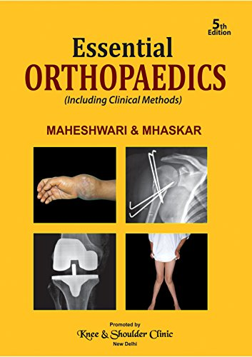 Book Cover: Essentials of Orthopedics by Maheshwari 5th Edition