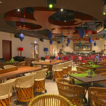 Digital Projection Creates Table Mapping Show for Dubai Restaurant Chain