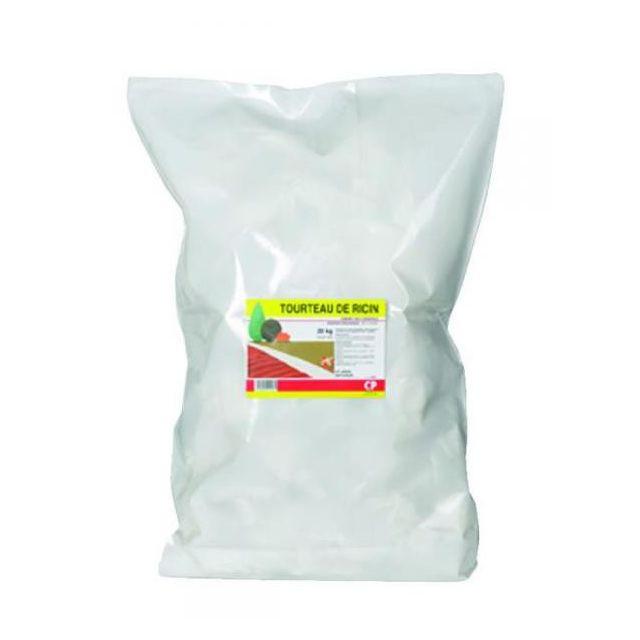 CP JARDIN Tourteau de ricin végétale Engrais organique Sac de 20kg