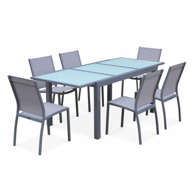 salon de jardin table et chaises the