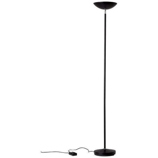 lampadaire avec liseuse guernesey 1x80w r7s noir