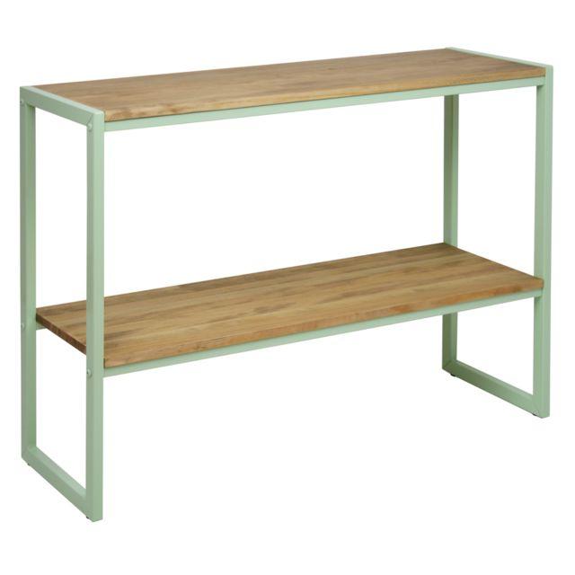 ds meubles console double plateau