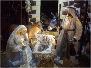 La sainte famillen Marie - Joeph et l'enfant jésus