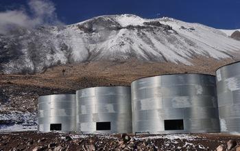 I detector di raggi gamma più potenti del mondo. L'High Altitude Water Cherenkov (HAWC) observatory aiuterà i ricercatori a la radiazione elettromagnetica a più alta energia. Crediti: Jordan Goodman, HAWC Collaboration