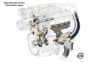 Neue Volvo FünfzylinderDieselmotoren mit höherer