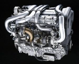Volvo S80XC90, 6cylinder petrol twinturbo engine, 2,9T