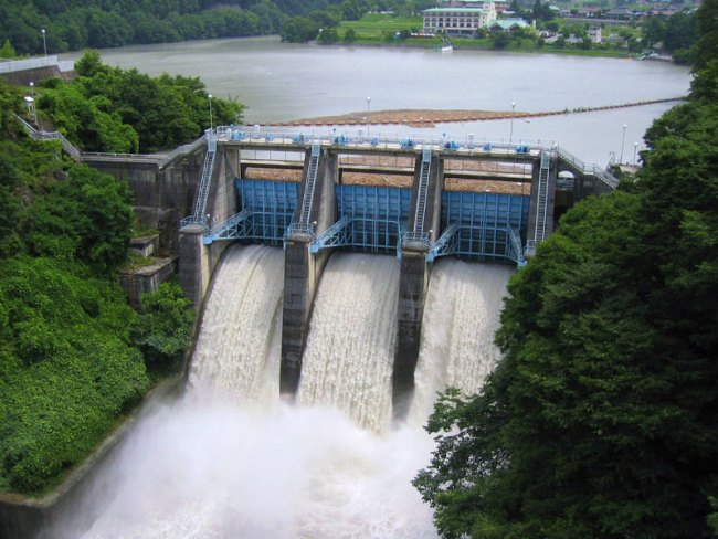 Enjoy the Wild Beauty of Emergency Water Discharges from a Dams