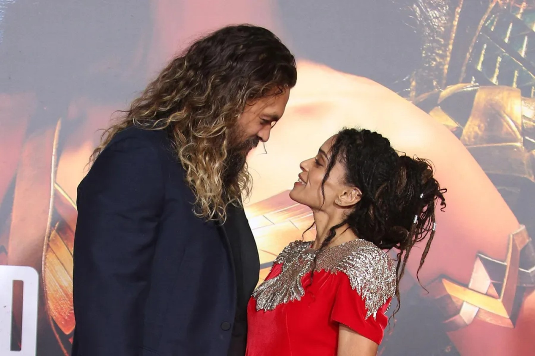 Jason Momoa y Lisa Bonet