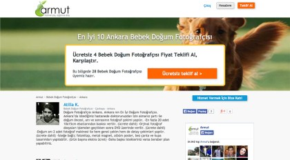 Doğum Fotoğrafçısı Ankara