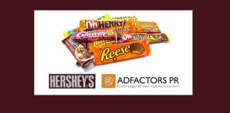 image-Hershey-India-Pvt-Ltd-Gives-PR-Assignment-To-AdfactorsPR-Mediabrief