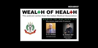 Image IMA podcast Wealth of Health Dr Sen and Dr Asokan Mediabrief