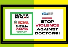image-IMA Wealth of Health Podcast-Episode 2 - English- Stop Violence Against Doctors-MediaBrief