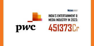 image-Indias E&M Industry to grow to 451 373Cr by 2023 - PwC Report - MediaBrief