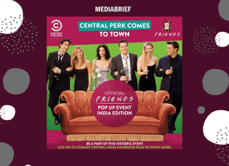 image-Comedy Central India Celebrates the 25th Anniversary of Friends Mediabrief