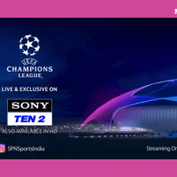 UEFA Champions League back on SONY TEN 2 channels on 17 Sept