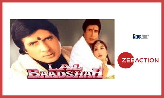 image-Big B's Lal Baadshah on Zee Action Mediabrief