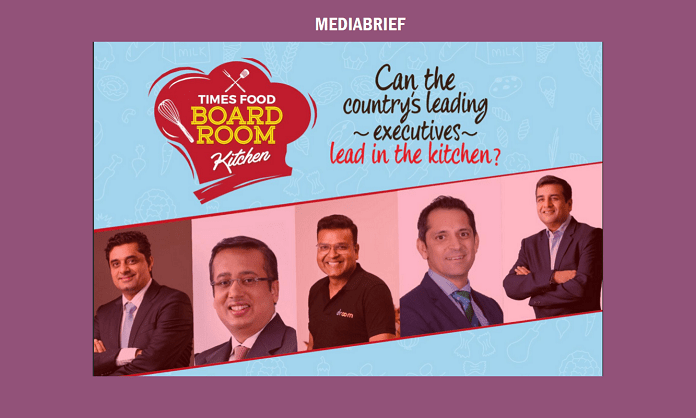 Image-India's business leaders at Times Food's Boardroom Kitchen Mediabrief