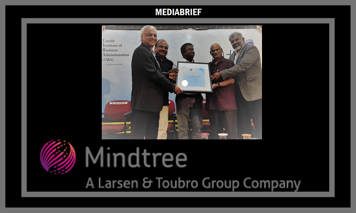 image-Mindtree Honored with Mother Teresa Award Mediabrief