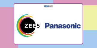 image-ZEE5 partners with Panasonic India Mediabrief