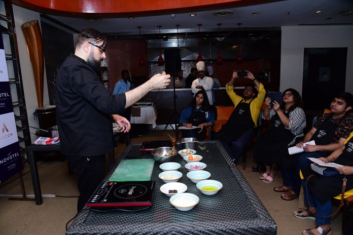 Vegan Gastronomy at Novotel Mumbai Juhu Beach with Chef Sébastien Kardinal
