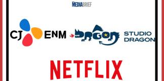 image-CJ ENM-Studio Dragon-Netflix announce a long-term partnership Mediabrief