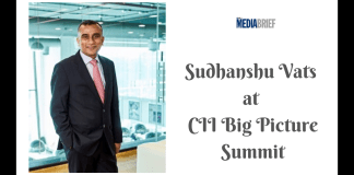 image-Sudhanshu Vats at CII Big Picture Summit Mediabrief